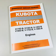 KUBOTA KH90 TRACTOR V1702 ENGINE SERVICE SHOP MANUAL REPAIR