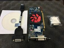 Dell AMD ATI Radeon HD 6450 PCIe 1gb GDDR 3 DVI DisplayPort FH Video Grafikkarte