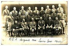 More details for antique military rppc postcard the royal garrison artillery sierra leone 1914