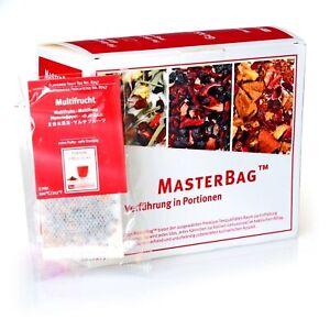 Tee Gschwendner Früchtetee Multiifrucht 20 x3,6g Master Bag Glas TeeGeschwendner