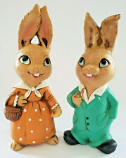 Vintage Pendelfin Bunny Rabbit Figurines > Collectible > Easter Decor