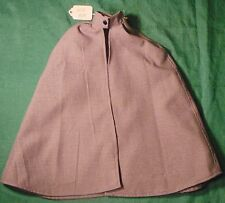 """Blue Check Cape for Supersize Barbie, American Girl or 22"""" Hannah Montana SSC229"""