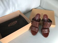 Tod's Womens Shoes Brown Size 6; European 36