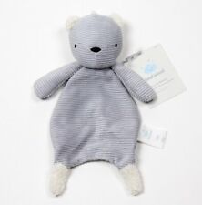 Cloud Island Gray Bear Lovey Plush Security Blanket NWT