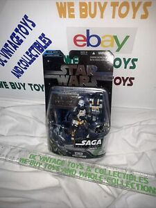 STAR WARS THE SAGA COLLECTION #021 SCORCH Republic Commando 2006 NEW Foil Card