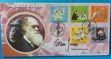 25.2.2003 Secret Of Life-DNA-Signed Professor STEPHEN JONES-Genetics-Benham FDC