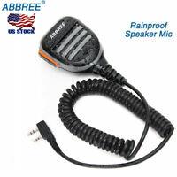Abbree Waterproof Speaker Mic for Baofeng UV-5R UV82 BF-888S AR-F8 Two Way Radio