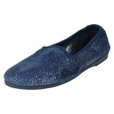 30-39 Damen-Pantoffeln aus Textil Größe