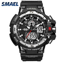 Luxury Men's Sports Multi-function Waterproof LED Digital Quartz Wrist Watch