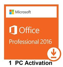 Brand New Microsoft Office Professional 2016 Genuine Key w/ Microsoft Support -