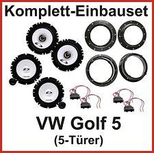 Lautsprecher Set Golf 5 ALPINE SXE-1750S SXE-1725S 2 Wege System vorne + hinten