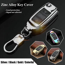 Zinc Alloy Car Key Cover Shell Case 3 Button for VW Volkswagen GTI Golf Jetta