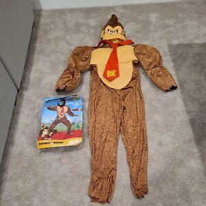 Nintendo Super Mario Men's Deluxe Donkey Kong Halloween Costume 42-46 L/XL #4180