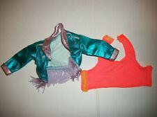 Jem 80's Doll Vtg Hasbro Clothes Fashion #93 Clash Jacket Tank Top