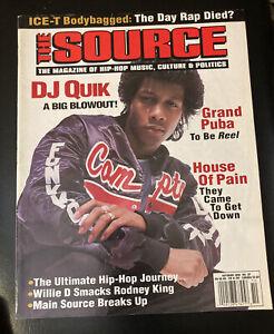 The Source Magazine October 1992 #37 DJ Quik, House Of Pain / Everlast, Yo-Yo