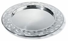 Alessi SG30 Ethno Vassoio rotondo - 18/10 in Acciaio Inox Lucidata Specchio