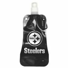 Pittsburgh Steelers Plegable reutilizable de 16 onzas botella de agua