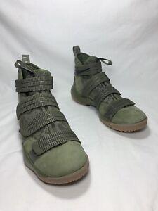 """Nike LeBron Soldier 11 SFG """"Olive"""" Men's Sz 13 MDM OLV/BLK 897646 200"""
