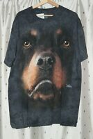 The Mountain ~ Rottweiler Face  T - Shirt Adult Men's / Women's~ XL