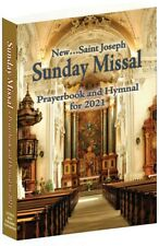 New Saint Joseph Sunday Missal Prayerbook and Hymnal for 2021