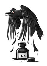 Magickal Raven Ink Black