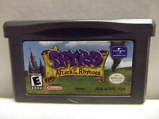 NINTENDO GAMEBOY ADVANCE SPYRO ATTACK OF THE RHYNOCS