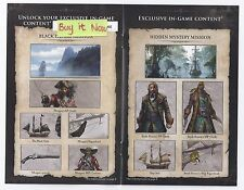 Assassin's Creed IV 4 Black Flag Black Chest Edition DLC Pack Xbox 360 *NEW!*