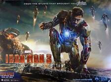 "Iron Man 3 Original Double Sided Movie Film Poster 30x40"" Quad Regular Style V2"