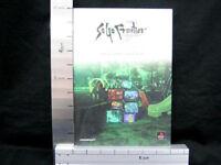 SAGA FRONTIER Guide w/Sticker PS Book DC98*