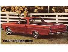 1966 Ford Ranchero Auto Refrigerator  Magnet