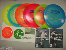 Innova Deluxe Champion Plastic 6 Disc Ultimate Disc Golf Set - U Pick The Discs