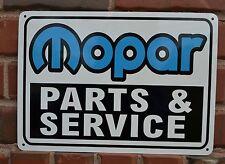 MOPAR Parts Service sign GTX Dodge Charger 70cuda 71 69