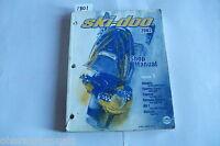 2002 Bombardier Ski Doo Skandic Touring Cargo Formula Summit MX Z Service Manual
