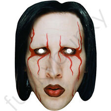 Marilyn Manson Rock Singer 80's CelebriMask - All Our Masks Are Pre-Cut!