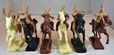 TOY SOLDIERS OF SAN DIEGO 1/32 PLAINS INDIANS MOUNTED FIGURE PLAYSET (6) | 16
