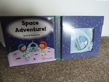 Space Adventure Story Book And Model Set No Glue Needed Ed Myer
