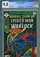 Marvel Team Up #55 (1977) CGC Graded 9.0 - Warlock