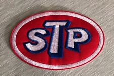 """STP Iron Sew On Patch Motor Oil NEW 2"""" NASCAR Racing US SELLER Embroidered"""