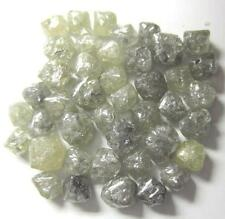 50 carat lot 1 to 2 ct size mixed color natural rough uncut loose diamond Africa