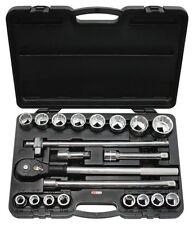 """KS-Tools 911.0751 3/4"""" PULGADAS Juego de llaves de zócalo, 21 Piezas"""