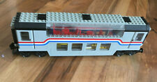 LEGO 9 V Railway Panoramawaggon 4547, without Figurines Ba, Sticker Missing