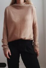 Pure Cashmere Camel Coloured Long Sleeve Jumper Excellent Condition Size S