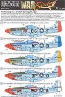KITS-WORLD 1/72 North-American P-51D Mustang ART SUR LE NEZ DES AVIONS #72011