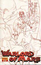 Warlord of Mars #8 Jusko Red Reorder CVR-DYNAMITE-US-fumetto - h415