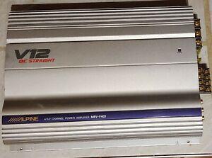 Alpine MRV-F401 Amplifier 4/3/2 channel