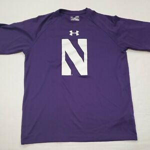 NWOT Northwestern Wildcats Under Armour Purple T-Shirt Medium New Without Tags
