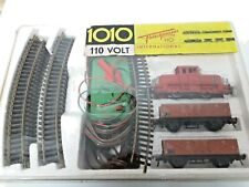 FLEISCHMANN 1010 HO GAUGE INTERNATIONAL TRAIN SET LOCO WAGONS POWER SUPPLY TRACK
