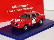 Alfa Romeo Gta 1600 #31 Jochen Rindt Vienna 1967 M4 7136 1:43