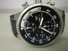 IWC Aquatimer 3719-33 42MM S/S Chronograph. NICE.