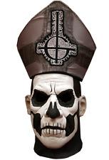 Halloween GHOST - PAPA II EMERITUS DELUXE EDITION ADULT LATEX MASK COSTUME NEW
